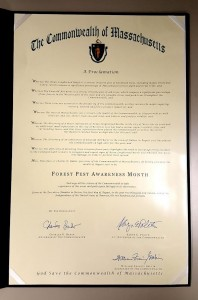 forest pest awareness month decree